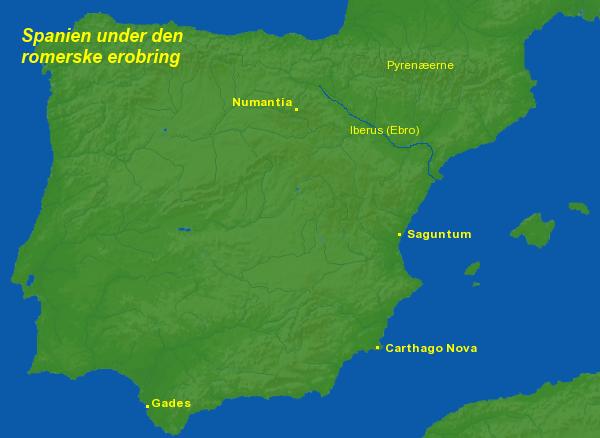 romersk feltherre erobrer spanien 210