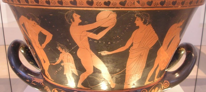 euphronios krater The euphronios krater (greece, c515 bc), claimed by the metropolitan museum of art in new york to have been purchased in 1972 in good faith, depicts exquisitely painted homeric scenes euphronios krater - 'side' a euphronios krater - 'side' a detail.