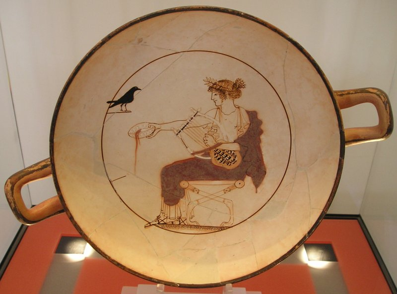 Apollon med lyre